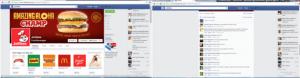 飲食店Jolibeeのフェイスブックページのコメント例。おしゃべりなフィリピン人らしい